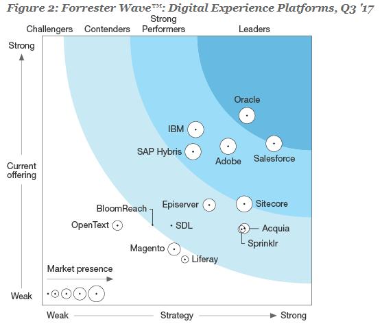 20171118 Forrester Wave - Digital Experience Platforms Q3 2017
